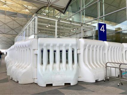 香港国際空港に自由に入れなくなったのはやっぱり不便