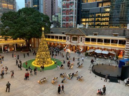 香港セントラルの大館(Tai Kwun)にある旧裁判所にはじめて入った