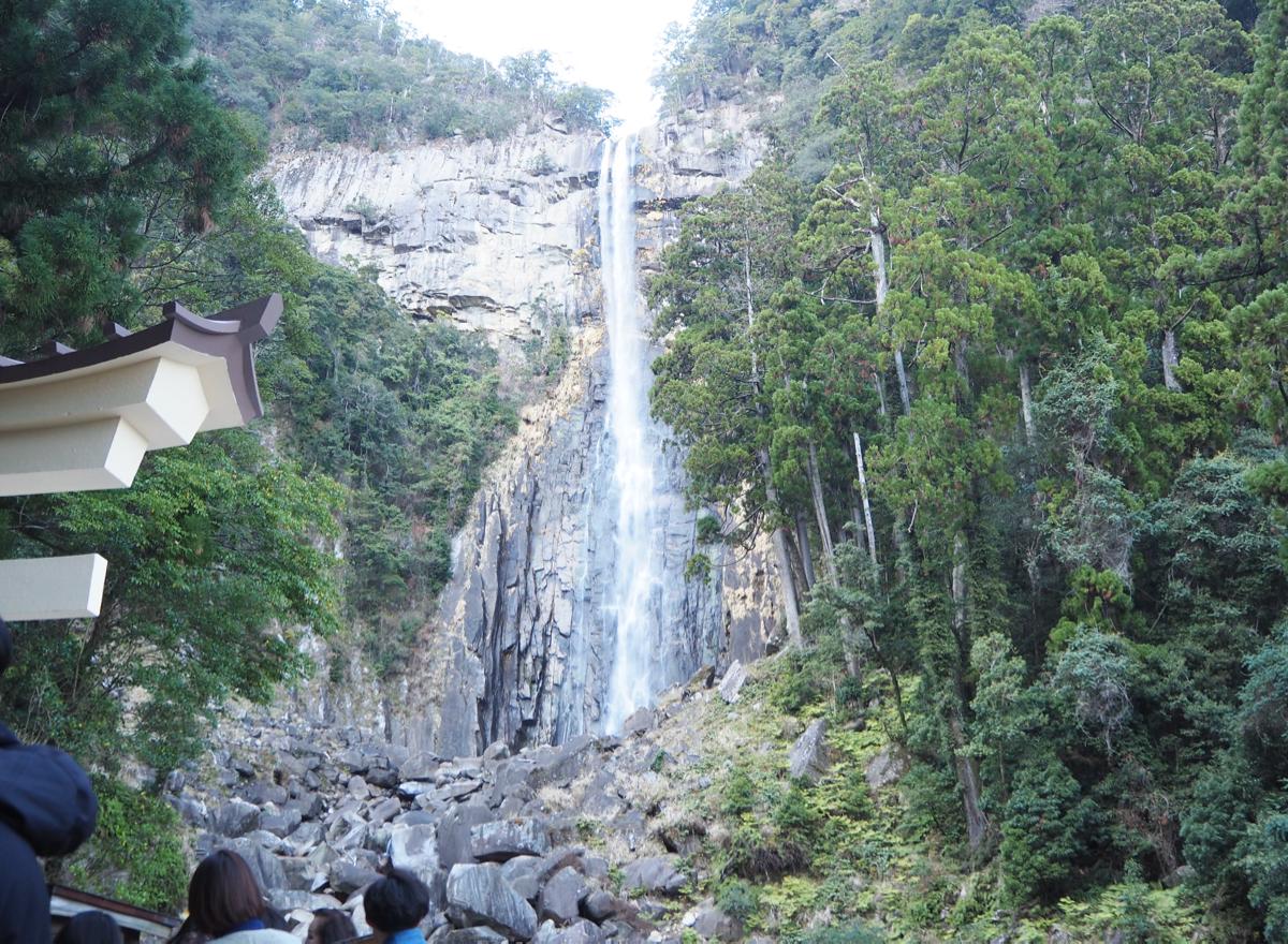 世界遺産熊野三山巡り(1)~那智の滝の前で大きなおみくじを引いた(熊野那智大社)