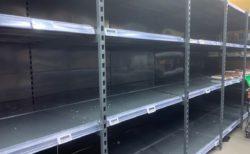 香港内のスーパーの商品が品薄になったけど、あまり困らなかった