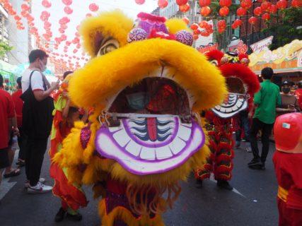 バンコクのチャイナタウンで旧正月のお祝いを見られてラッキーだった~子連れでバンコク旅行(3)