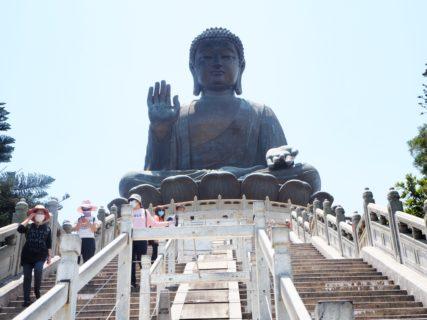 昴坪にある寶蓮禪寺の大仏はやっぱり大きかった