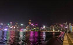 香港での会社員生活の最後の時間をひとりで静かに過ごした