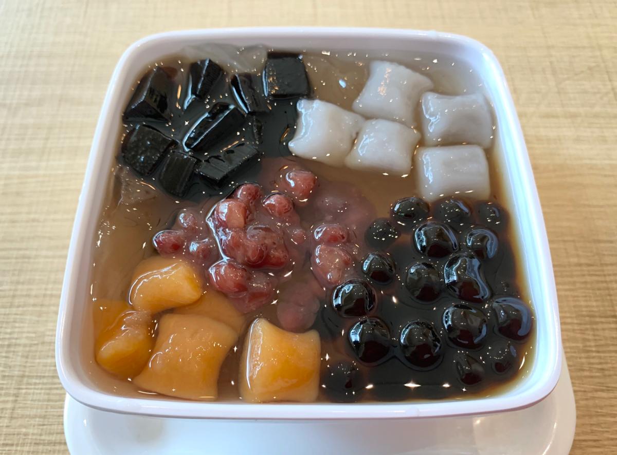 今日のデザート~五寶愛玉冰/糖樓甜品@屯門