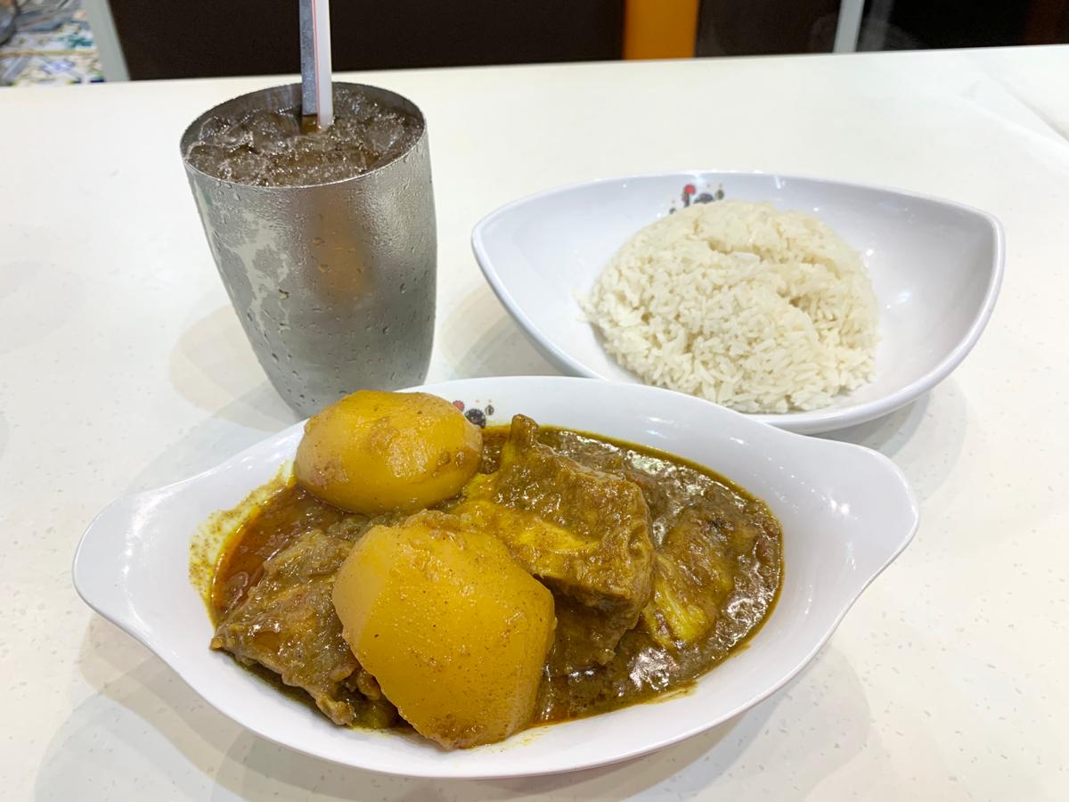 今日の昼ごはん~澳門咖喱雞/澳門茶餐廳@尖沙咀