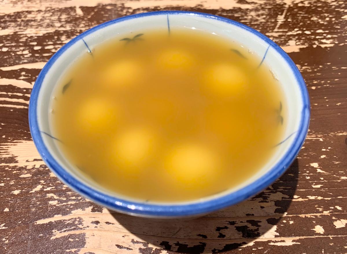 今日のデザート~寧波薑汁湯圓/佳佳甜品@佐敦