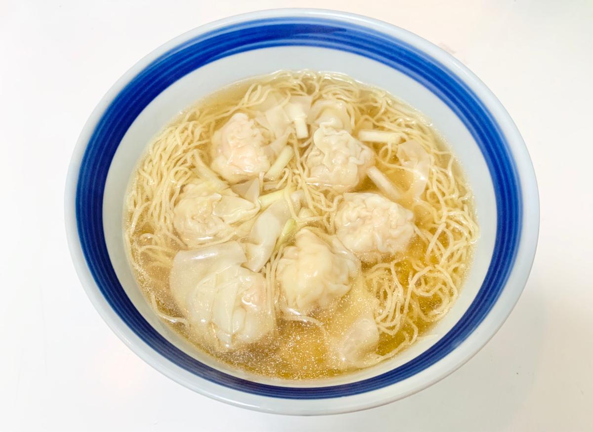 今日の昼ごはん~正斗鮮蝦雲呑麺/正斗粥麵專家@東涌