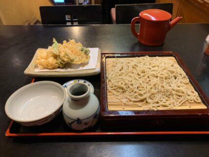 やっぱり天ぷら蕎麦は特別感があると思う~神田尾張屋本店