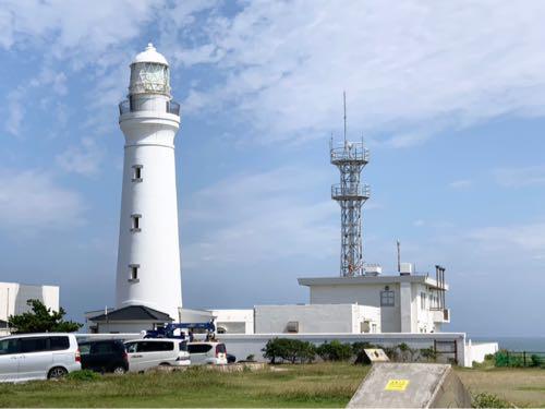 犬吠埼灯台に入れなかったのは残念だけど、灯台の周りをお散歩できたのは良かった